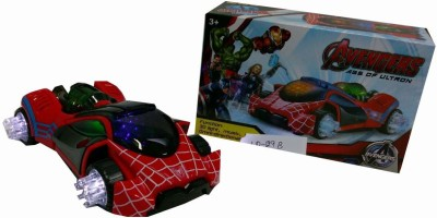 Shop & Shoppee Spiderman Omni - Directional musical car with 3D Lights