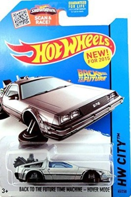 Mattel Hot Wheels 2015 Release Back To The Future Time Machine