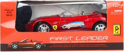 Teddy Berry Battery Operated First Leader Car(Red)