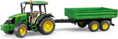 Bruder Bruder - 02108 - John Deere 5115 M with tipping trailer