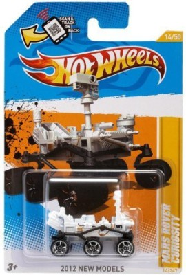 Hot Wheels 2012 New Models Mars Rover Curiosity