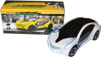 Scrazy Attractive 3D Light Super Speed Racing Car With Music