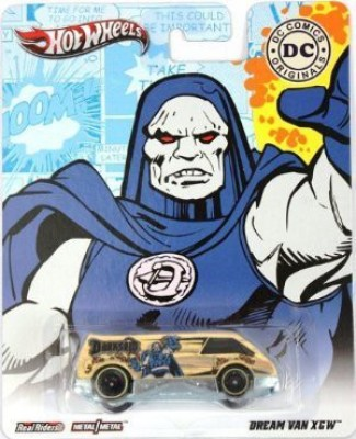 Mattel Hot Wheels Dc Comics Darkseid (Dream Van Xgw)