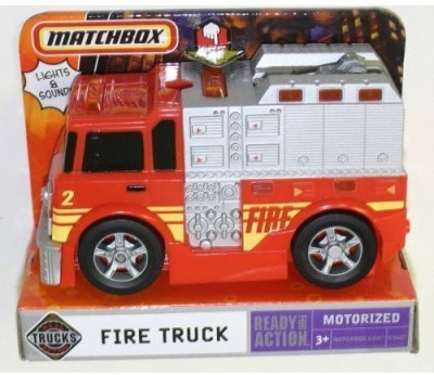 Matchbox Real Motorized Fire Truck