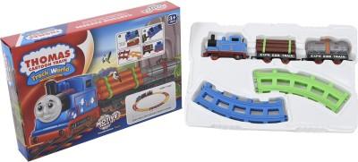 Light Gear Cartoon Thomas Basic Train Set, Works Off the Track Also