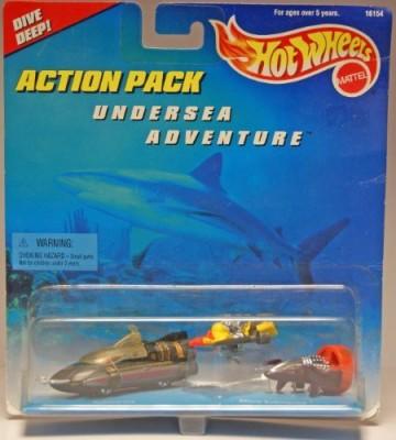 Hot Wheels Pack Undersea Adventure