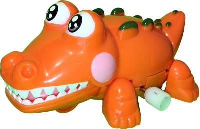 Mamaboo Wind-Up Crocodile Crocs - Orange