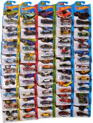 Hot Wheels Vehicle Models Set of 45