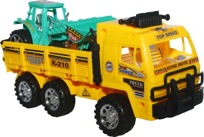 Toyzstation Thunder Truck with JCB Friction Powered