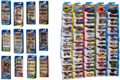 Hot Wheels Collection 105 Vehicles