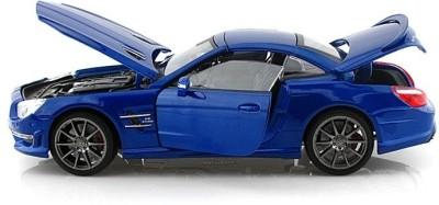 Maisto 1:18 Mercedes-Benz SL 63 AMG Hard Top Diecast Model Car BLUE