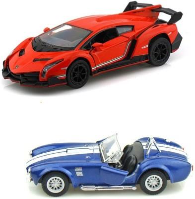 Kinsmart Lamborghini Veneno and Shelby CObra