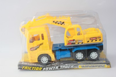 Cuddles Collections Friction Power Truck