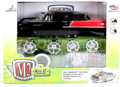 M2 Machines 1957 Chevrolet 150 Sedan Model Kit 1:24