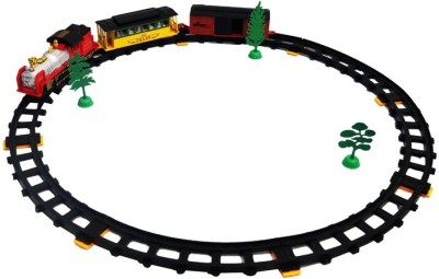 Turban Toys Battery Operated Royal Big Train World With Light, Music And Round Track