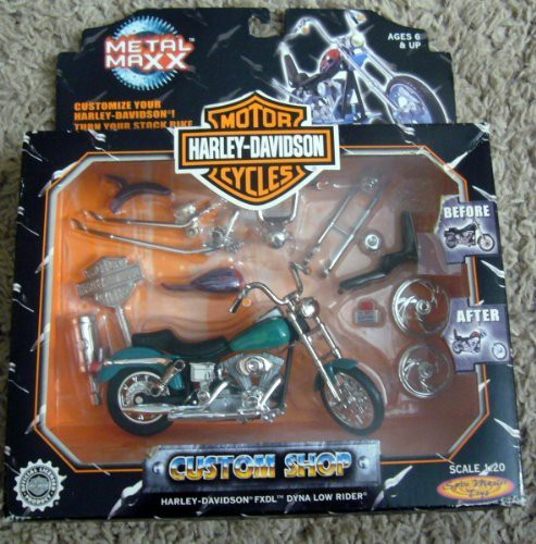 Spin Master Harley Davidson Motor Cycles Metal Maxx Custom Shop 120 Flipkart