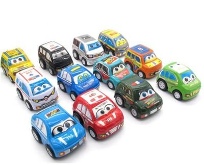 Madink Mini Pull Back Cars Pack of 12