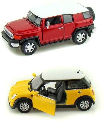 Kinsmart Toyota FJCruiser and Mini Copper Model