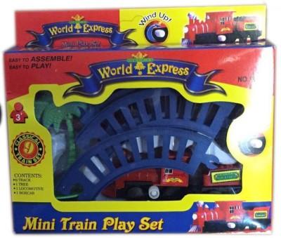 Rahul Toys Mini Train Set For Kids With Key