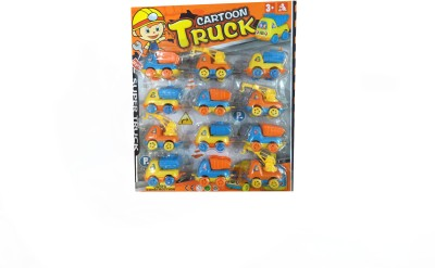 Rahul Toys 12 Pcs Car