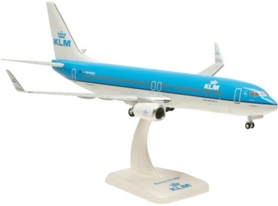 Hogan Wings Boeing 737-800 Klm W/ Winglet, Scale 1:200 With Stand With Gear
