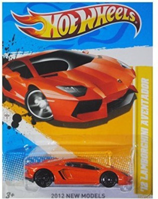 Hot Wheels 2012 New Models ,12 Lamborghini Aventador Orange 12/247