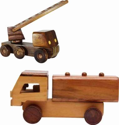 EcoJoy Larry Lorry ladder truck & Spiller