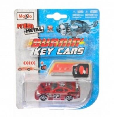 MAISTO BURNING KEY CARS 2PK