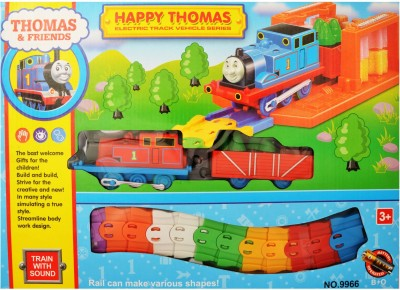 Zest4toyZ Thomas and Friends Happy Thomas Electric Track Vehicle Series