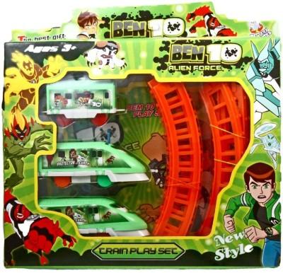 Foxy Ben10 Alien Force Train Set