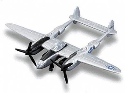 Maisto Fresh Metal Tailwinds P-38 Lightning Airoplane
