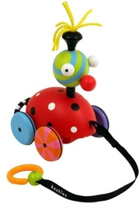 Kushies Zippy-Buggy Pull Toy