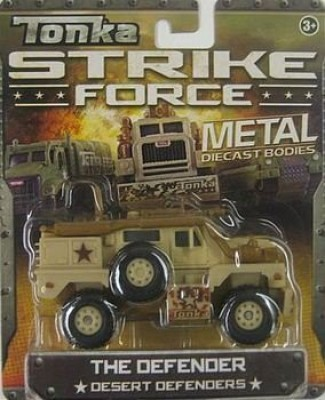 Tonka Strike Force Metal Diecast Bodies The Defender Desert