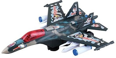 ToyZe Bump And Go F18 Military Fighter Jet Stunt Bump And Go