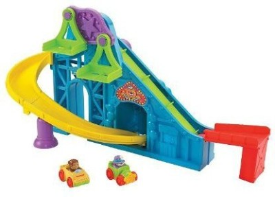 Fisher-Price Little People Wheelies Roller Coaster