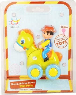 Zest4toyZ Swig Animal Show - Mild Pony