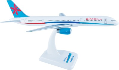 Hogan Wings Aircraft scale model, Boeing 757-200 Air 2000, Scale 1:200 (with Stand & gear)
