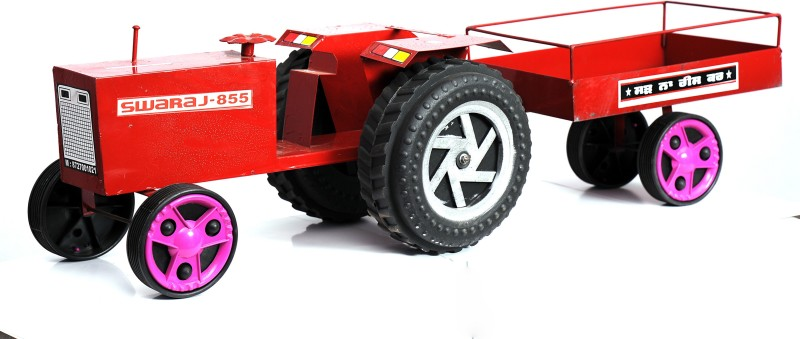 Azad Industries Tractor(Red, Gulabi)
