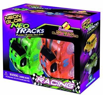 Mindscope Neon Glow Twister Tracks Neo Tracks Light Up (5 Led)Race