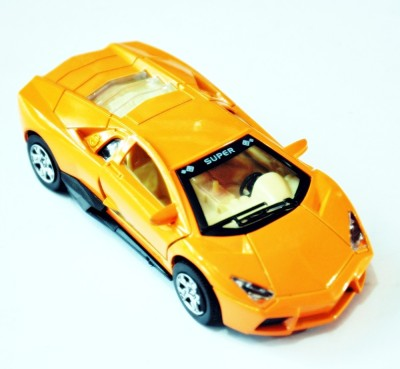Ruppiee Shoppiee MK3 Metal Car Orange