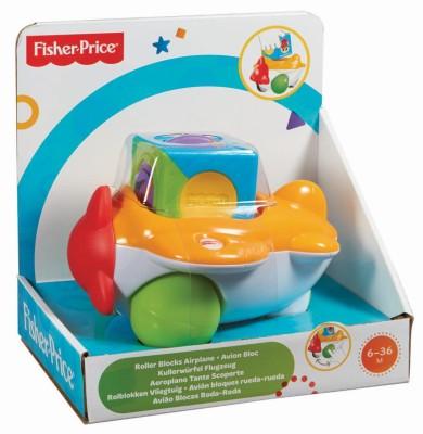 Fisher-Price Roller Blocks Airplane