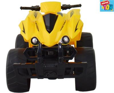 Mera Toy Shop Bump Inertia Car-yellow