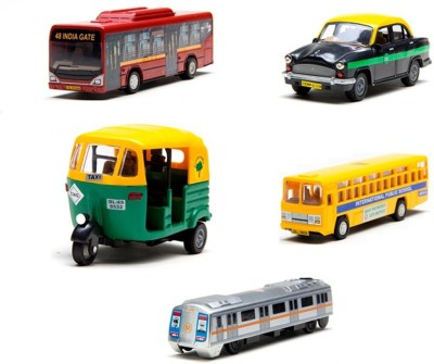 toyztrend public transport set of 5