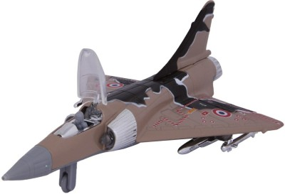 Baby Steps Kinsmart Die-Cast Metal Mirage Plane Brown