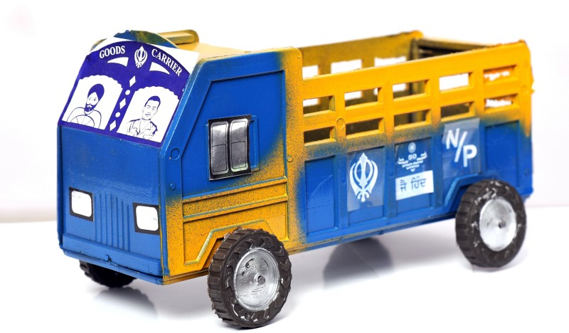 Azad Industries Truck(Blew, Yellow, Black)