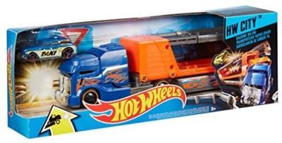 Mattel Hot Wheelscitycrashing Big Rigs (Colors/Styles Vary)