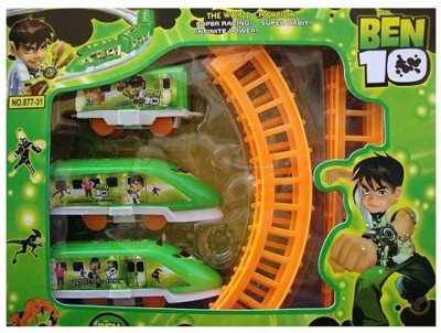 Wishkey Battery Operated Ben 10 Train Set