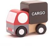 Zelten Mini Wooden Car Cargo,T00077 (Mul...