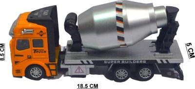 Shop4everything Mettalic DIE CAST Alloy wheel Concrete Truck