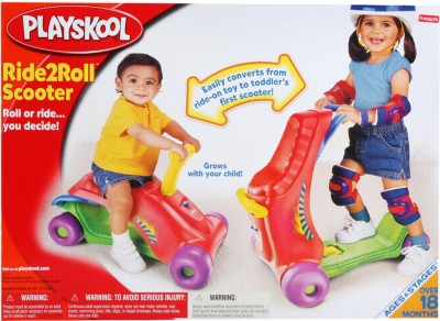 Playskool Explore and Grow Ride to Roll Scooter